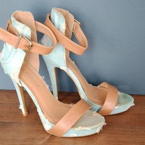 Shoe Republic LA distressed heels